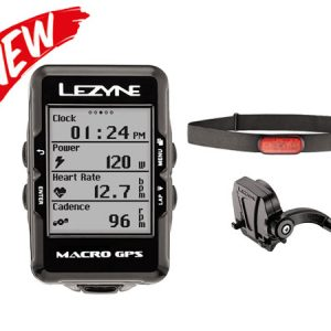 Lezyne Macro GPS & Heart Rate & Speed & Cadence