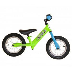 Ποδήλατο Style Ισορροπίας - Push Bike Fluo Πράσινο - Μπλε