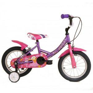 """Παιδικό ποδήλατο 12"""" Style - Μωβ 2018"""