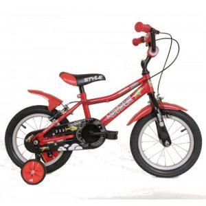 """Παιδικό ποδήλατο 12"""" Style - Κόκκινο 2018"""