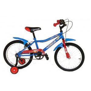 """Παιδικό ποδήλατο 18"""" Style - Μπλέ 2018"""