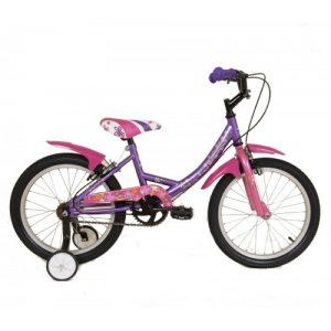 """Παιδικό ποδήλατο 18"""" Style - Μωβ 2018"""