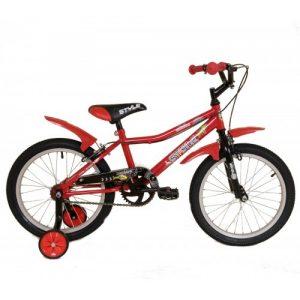 """Παιδικό ποδήλατο 18"""" Style - Κόκκινο 2018"""