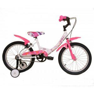 """Παιδικό ποδήλατο 18"""" Style - Λευκό 2018"""
