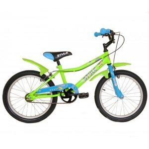 """Παιδικό ποδήλατο 20"""" Style - Fluo Πράσινο 2018"""