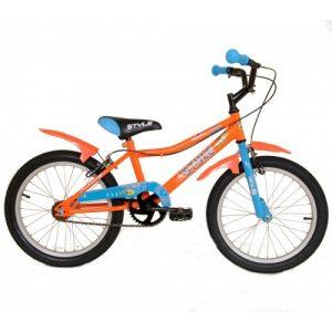 """Παιδικό ποδήλατο 20"""" Style - Fluo Πορτοκαλί 2018"""