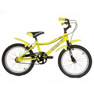 """Παιδικό ποδήλατο 20"""" Style - Fluo Κίτρινο 2018"""